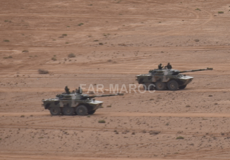 AMX-10RC des FAR // Moroccan AMX-10RC 49275139058_7c89d79bf9_o