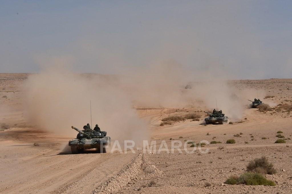 Chars T-72B/BK MArocains // Moroccan Army T-72B/BK Tanks - Page 6 49275612171_481d9d4bb4_b