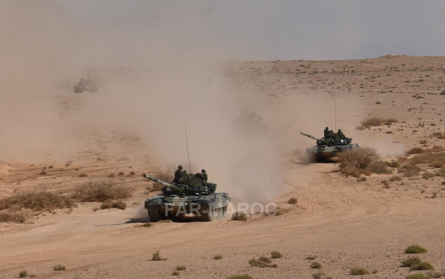 Chars T-72B/BK MArocains // Moroccan Army T-72B/BK Tanks - Page 6 49275613096_b2fc7180a5_o
