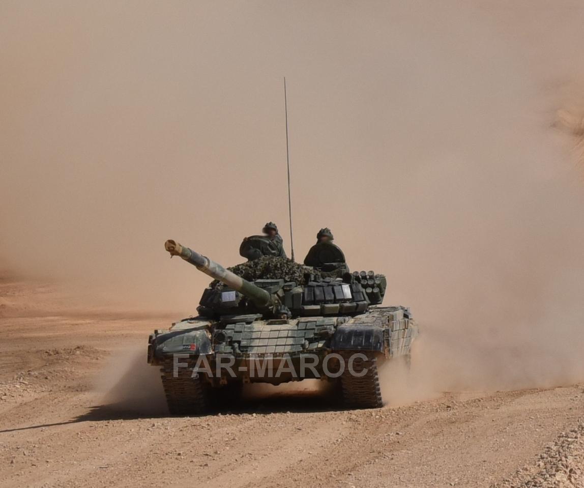 Chars T-72B/BK MArocains // Moroccan Army T-72B/BK Tanks - Page 6 49275613516_d5861ce4c5_o