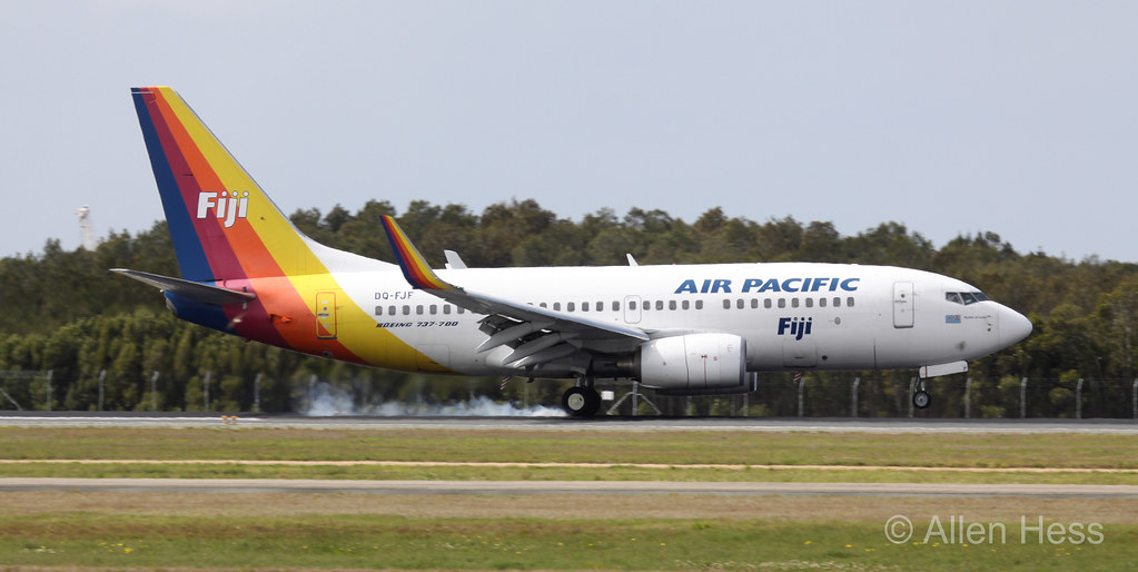 Air Pacific (Fiji Airways), Boeing 737-700 .....2011-0903-113