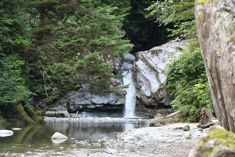 Darling Falls on the Darling River - one of the many highlights of the West Coast Trail