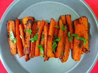 Miso-Glazed Carrots