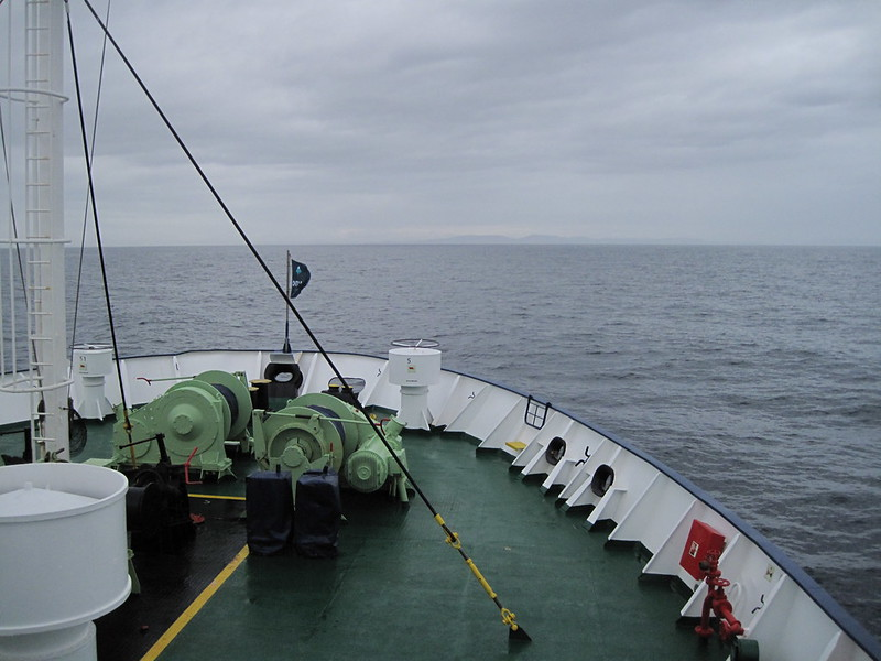 First sight of land - Drake Passage Return Day 2