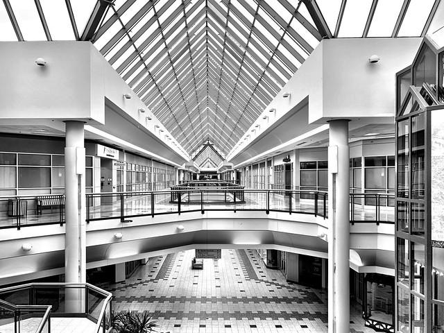 Christmas Day mall walking