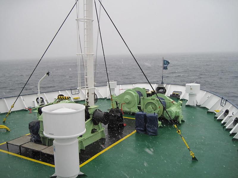 Antarctic Convergence Snowfall