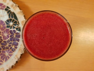 Pomegranate Ice Smoothie
