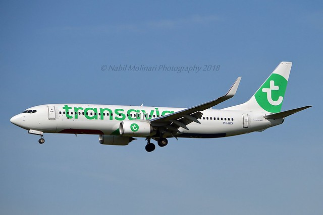 Transavia PH-HXK Boeing 737-8K2 Winglets cn/62157-6380 reg/lsd PR-GZL GOL Linhas Aereas 11 Nov 2019 @ Zwanenburgbaan EHAM / AMS 06-04-2018