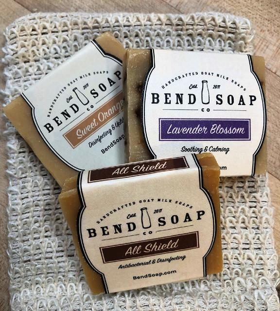 all-natural goat milk soap