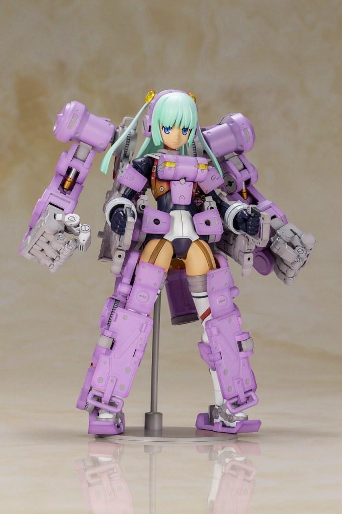 新配色衍生機體登場!壽屋《Frame Arms Girl 骨裝機娘》格里芬(グライフェン) Ultramarine Violet Ver.