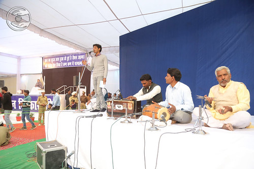 Devotional song by Amrinder Ji, Bahraich, UP