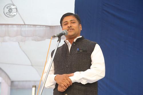Nepali speech by Shiv Kumar Godiya Ji, Nepalganj, Nepal