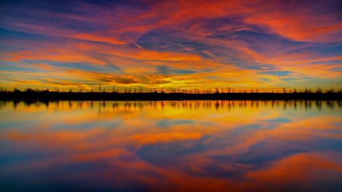 park shelbyfarms memphis longexposure tennessee sunset