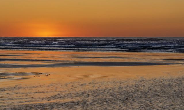 Post-sunset glow