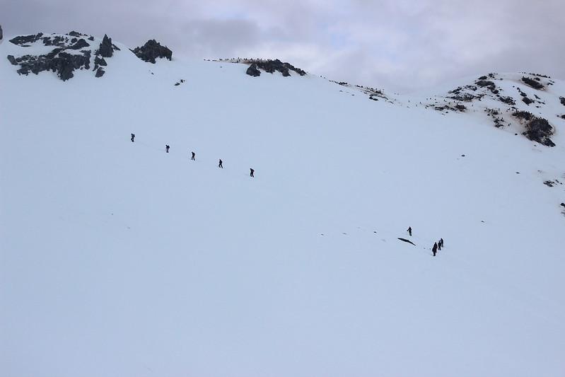 Mountaineers tackle Spigot Peak, Orne Harbour