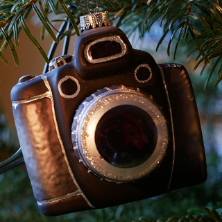 Weihnachtsbaumschmuck: Mein Fotoapparat