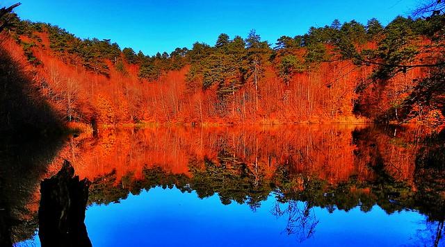 Erikli Dipsiz Lake reflections