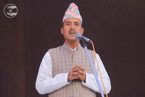 Nepali speech by Dev Raj Rimal Ji, Nepal