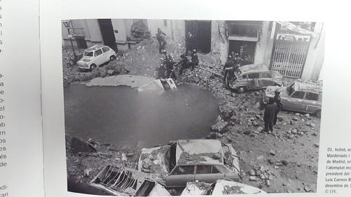Punt assassinat almirall Carrero Blanco Madrid 1973