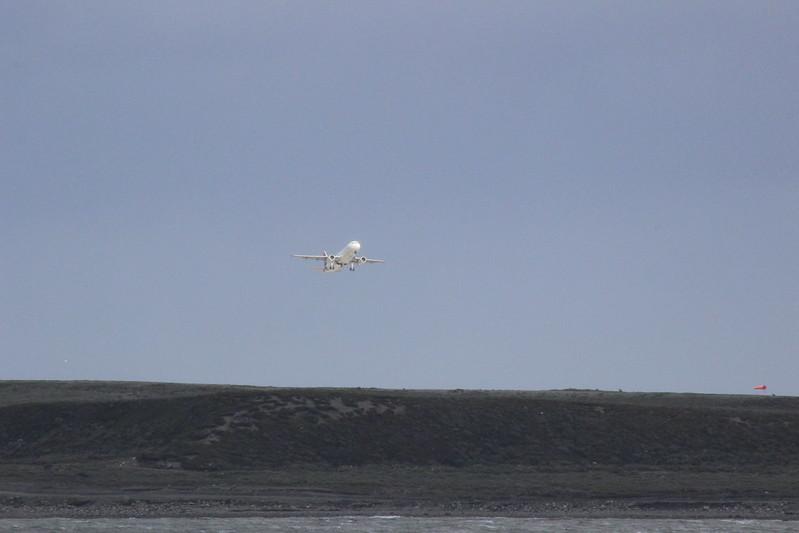 Take-off Ushuaia
