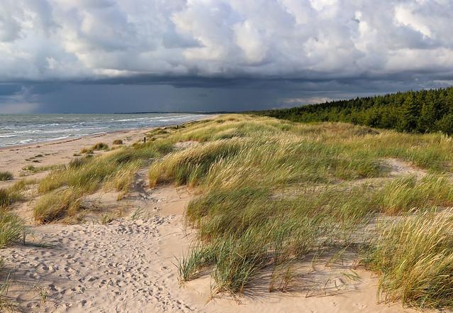 Baltc Sea in Latvia
