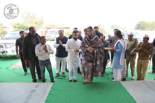 HH inaugurated Satsang Bhawan, Bahraich, UP