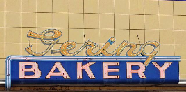 NE, Gering-Gering Bakery Neon Sign