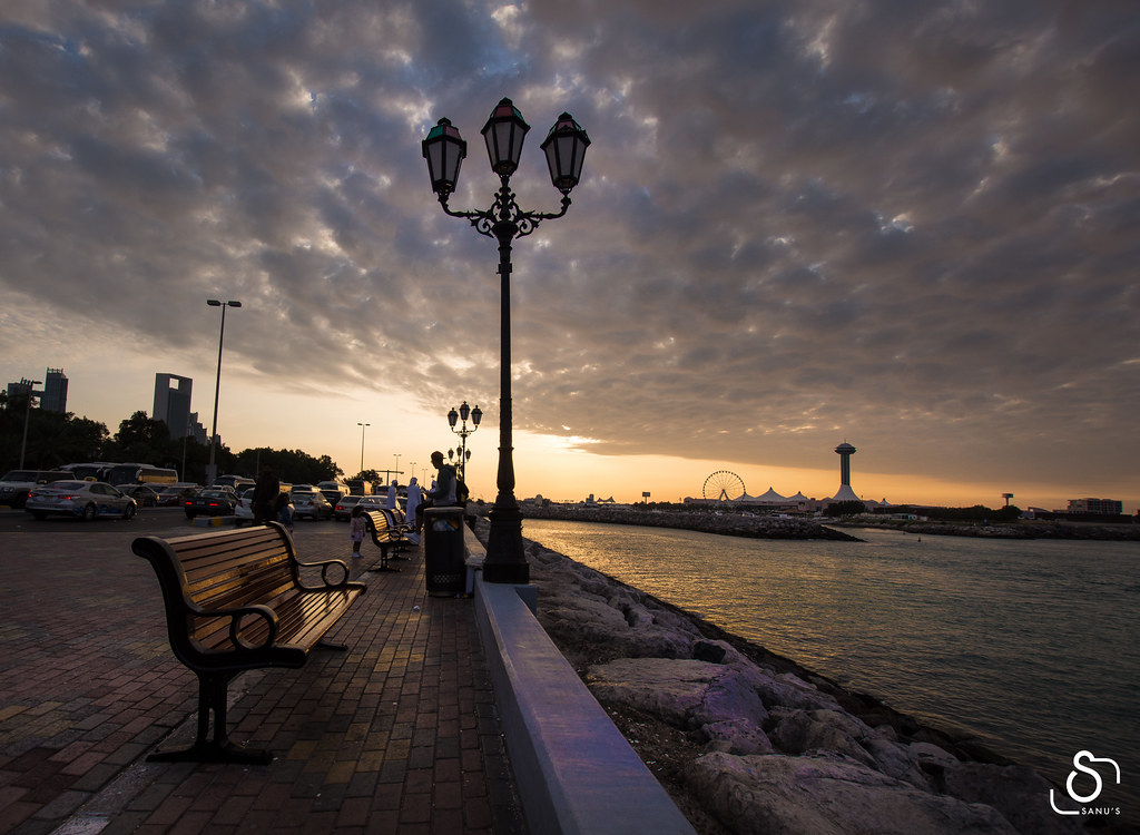 Abu Dhabi, Sunset