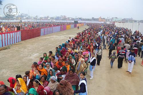 A view of Namaskar at the venue