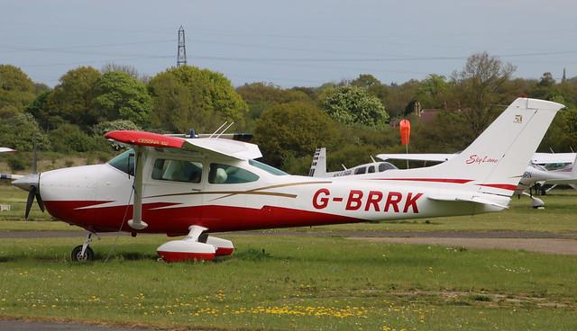 Cessna 182 G-BRRK Elstree 29/04/17
