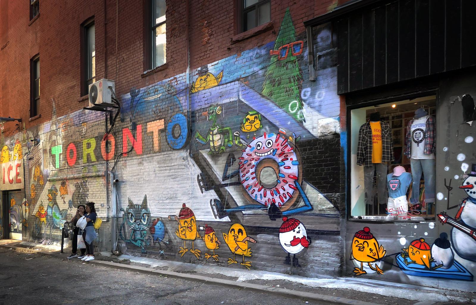 Toronto's Graffiti Alley:
