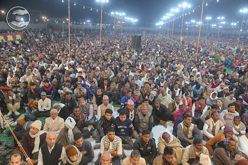A view of audience