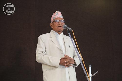 Nepali speech by Narbahadur Rawal Ji, Nepal