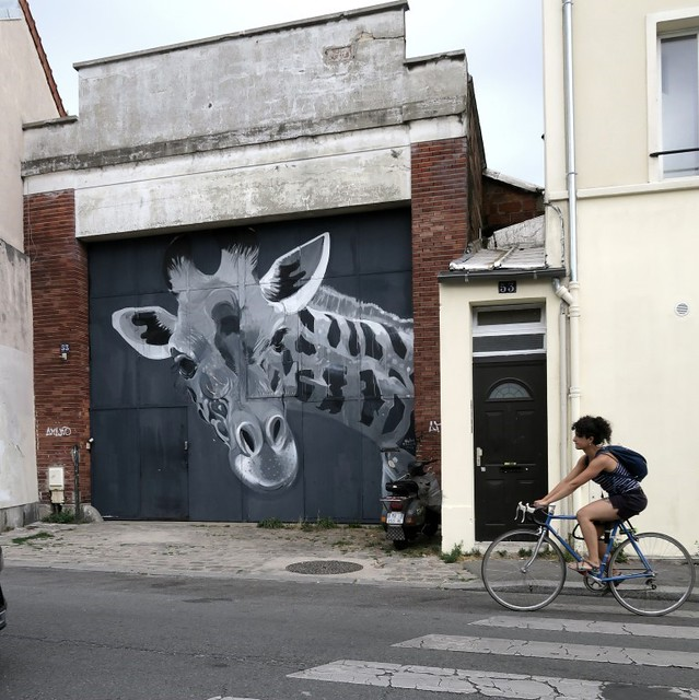 Girafe Nicolas Perruche in Montreuil