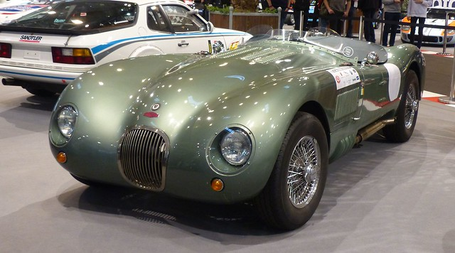 Jaguar C-Type green vl