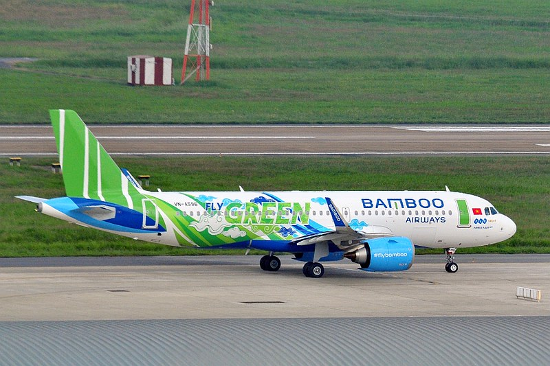 VN-A596 Airbus A320 251n Bamboo Airways