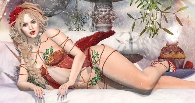 Look 1087 - Under the Mistletoe