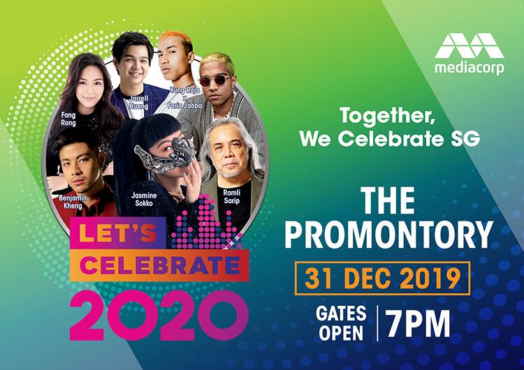 Mediacorp's Let's Celebrate 2020 countdown