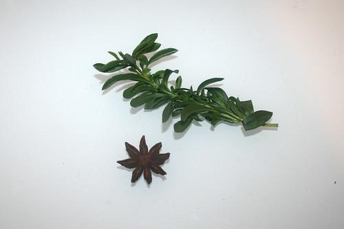 08 - Zutat Majoran & Sternanis / Ingredient majoram & star anise