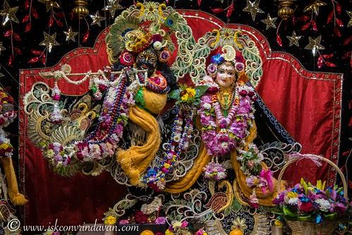 ISKCON Vrindavan Deity Darshan 26 Dec 2019