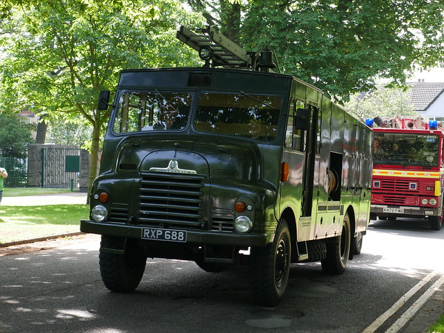 [PRESERVED] East Riding Auxiliary Fire Service RXP 688