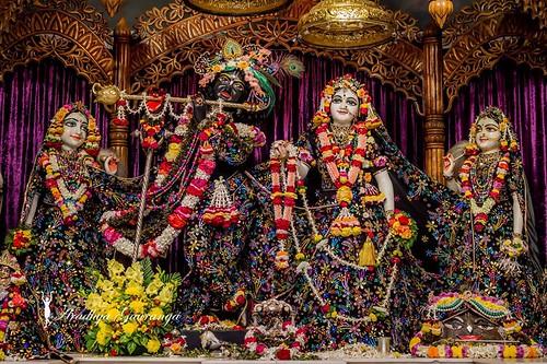 ISKCON Mayapur Deity Darshan 26 Dec 2019
