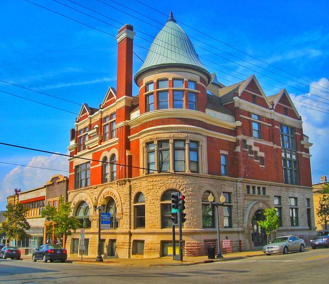 Rockford  Illinois - East Side Centre Building - Architecture Romanesque