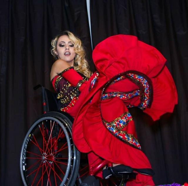 26/12/2019. Oficina de dança para cadeirantes. Fotos: Divulgação/PBH