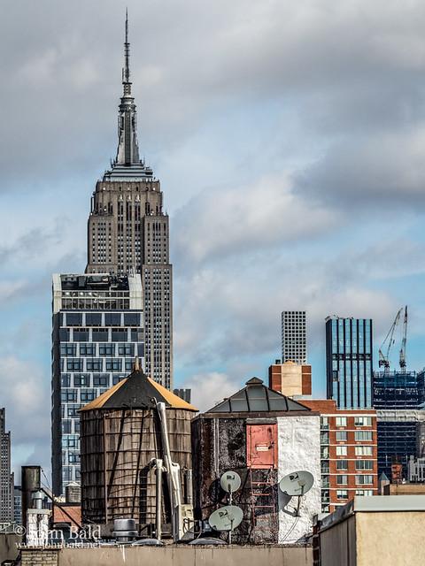 Rooftops, Manhattan NYC (71781)