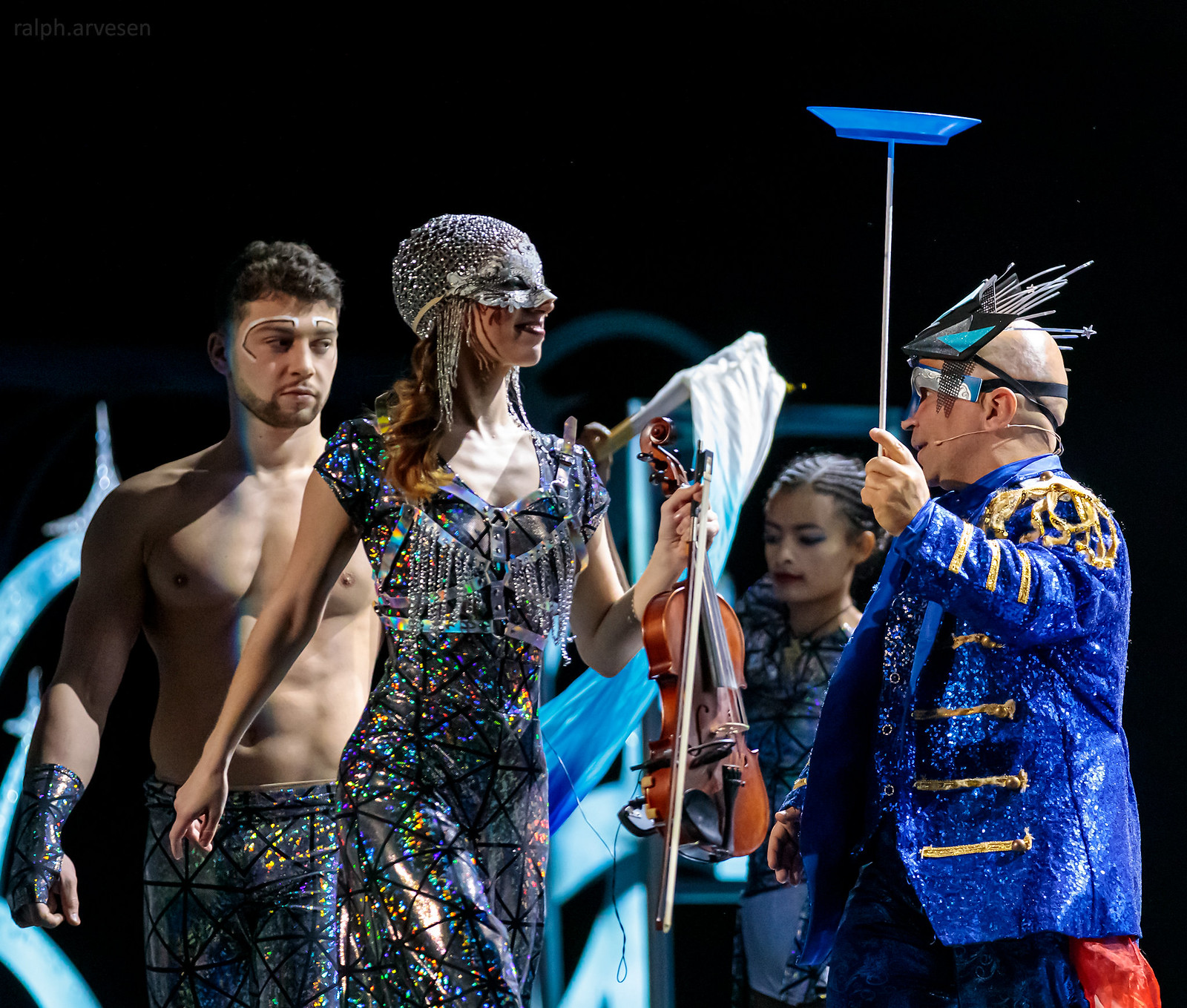 Cirque Musica   Texas Review   Ralph Arvesen