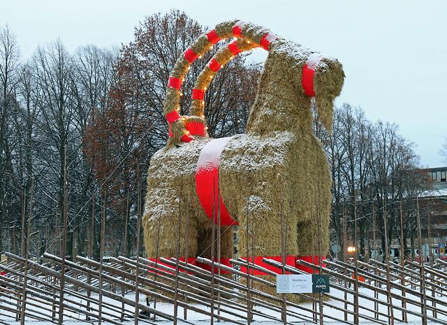 Happy New Year - Christmas Ram - Julbocken