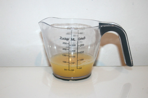 06 - Zutat Orangensaft / Ingredient orange juice