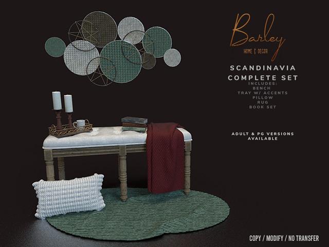 Barley – Scandinavia Set @SaNaRae