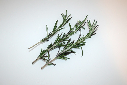 02 - Zutat Rosmarin / Ingredient rosemary